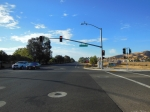 Vacaville, Ca, Video cameras detecting oncoming traffic, including bicycles ©Photograph by H-JEH Becker, 2012